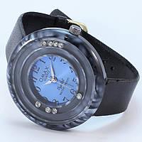 Женские наручные часы со стразами Omax 2608 Черный Золотой, КОД: 1392235