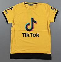 Футболка  Tik Tok для мальчиков  140/176 см