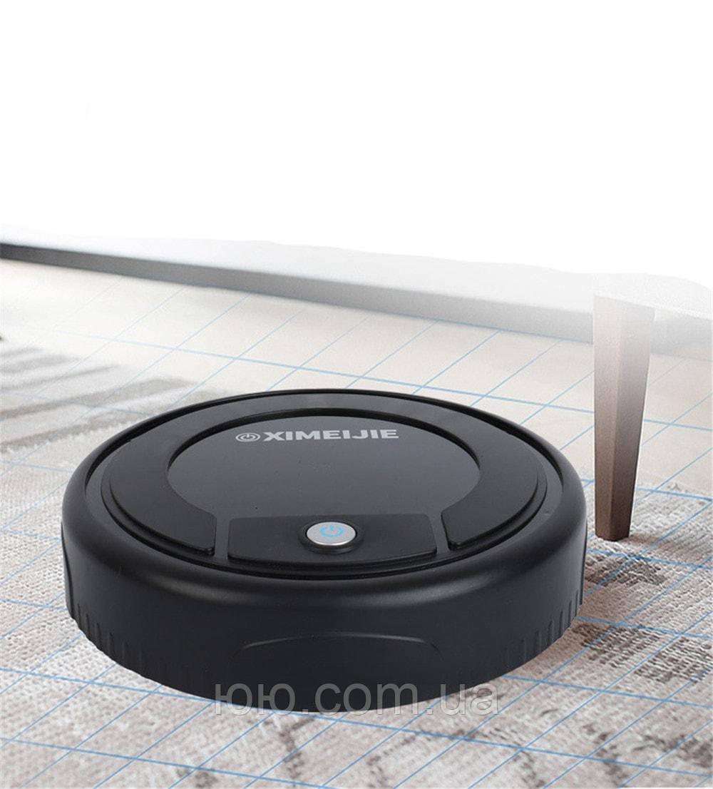 Умный робот-пылесос XIMEIJIE Robot Sweeper, полотёр, робот-уборщик аккумуляторный