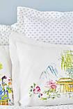 Комплект постельного белья с покрывалом Pike евро TM Karaca Home Hinata Yeşil, фото 2