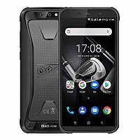 Смартфон блеквью черный, ударопрочный с двойной основной камерой на 2 сим Blackview BV5500 Pro black 3/16 NFC, фото 1