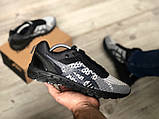 Стильные кроссовки Asics Gel Quantum Black Gray, фото 2