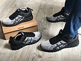 Стильні кросівки Asics Gel Quantum Black Gray, фото 5
