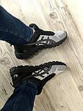 Стильные кроссовки Asics Gel Quantum Black Gray, фото 6