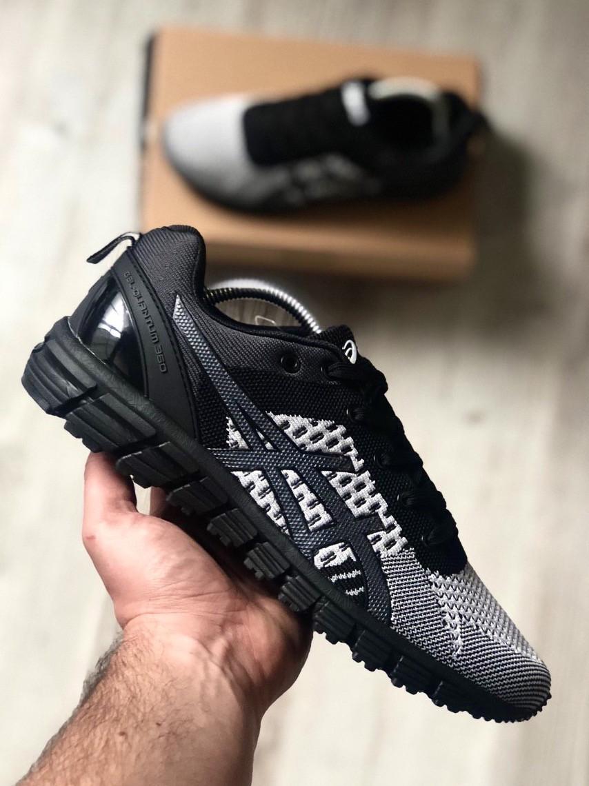 Стильні кросівки Asics Gel Quantum Black Gray