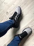 Стильные кроссовки Asics Gel Quantum Black Gray, фото 7