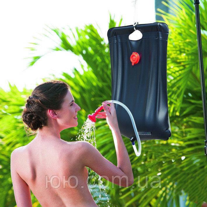 Походный навесной душ Intex 28052, 19 л для туристов, дачников