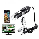 Цифровой USB Микроскоп для Mac Android Windows 500X - кратный ZOOM, фото 6