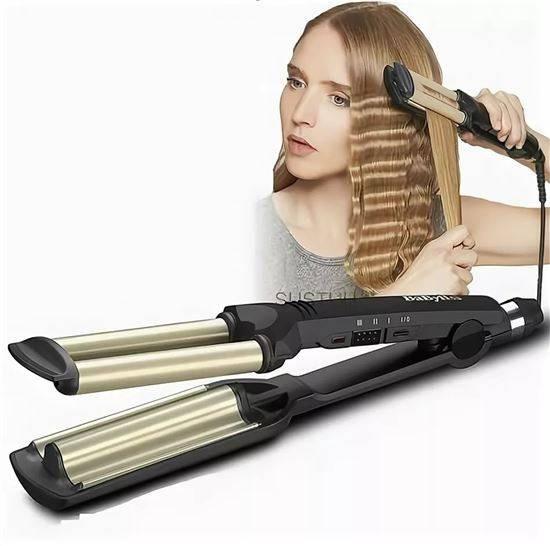 Утюжок для укладки волос GBR MOSER с регулятором температуры
