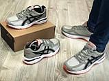 Стильні кросівки Asics Tartherzeal Light Gray, фото 4