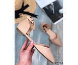 Босоножки мюли, закрытый задник, фото 3