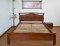 """Двуспальная кровать из массива натурального дерева от производителя """"Марго"""""""