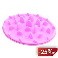Миска для здорового питания 0.2 литра Розовая (0013)