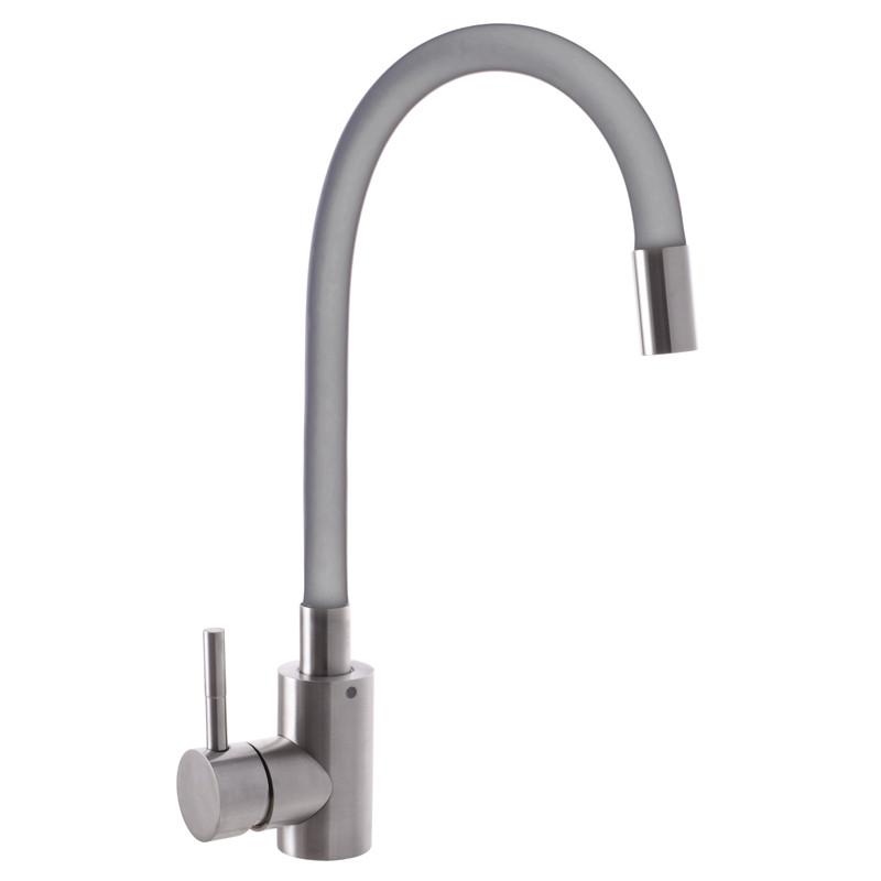 Смеситель для кухни MIXXUS SUS-011 REFL. GRAY серый (SS2799)