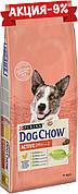 Dog Chow Adult Active 14 кг корм для взрослых собак с повышенной активностью с курицей