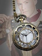 Золотые карманные часы для костюмов в стиле стимпанк без функции, фото 1