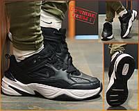 Кроссовки натуральная кожа Nike M2K Tekno Найк М2К Текно (41,42,43,44,45)