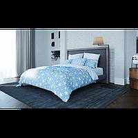 Комплект постельного белья Star blue Ранфорс Двуспальный