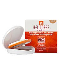 HELIOCARE Color Oil-Free Compact SPF 50 Sunscreen – Крем-пудра компактная с SPF 50 для жирной и комб. кожи