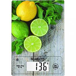 Весы кухонные электронные Scarlett SC-KS57P21