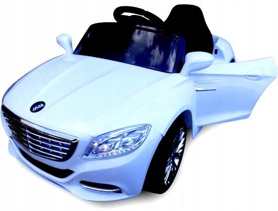Детский электромобиль на аккумулятореCABRIO S1 EVA белый с пультом управления