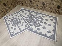 Набір килимків для ванної та туалету. 60Х90. Бавовна. (Туреччина) 6090-2