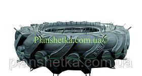 Гума для мотоблока 6.00-12 8PR з насічками посилений корт Польща, фото 3