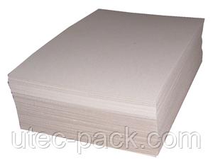Обкладинка для архівних справ картон хром-ерзац ЦОД НТІ 320*225 білий (50 шт) ХЕ -50
