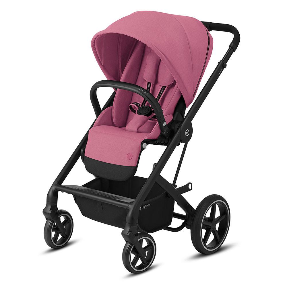 Прогулянкова коляска Cybex Balios S Lux (Magnolia Pink purple)