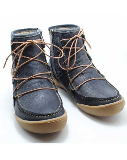 Демисезонные женские ботинки SafeStep 19508 синие