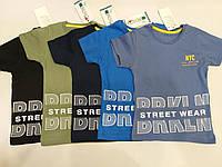 """Детская футболка для мальчика """"Street wear"""" размер 4-10 лет, цвет уточняйте при заказе, фото 1"""