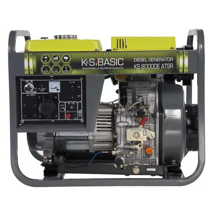 Дизельный генератор Konner & Sohnen BASIC KS 8000DE ATSR
