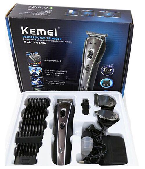 Бритва Kemei KM8066, машинка для стрижки волос и бороды, Аккумуляторная машинка для стрижки