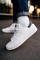 Мужские кроссовки Adidas Stan Smith white/black, фото 1