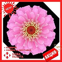 Ветрозащитный зонт Up-Brella | антизонт | зонт обратного сложения | зонт наоборот Цветок светло-розовый, фото 1