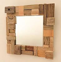 Зеркало в деревянной раме (размер под заказ)