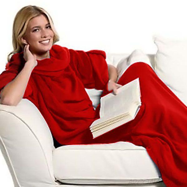 Одеяло-плед с рукавами Snuggle (Снагги) окунитесь в тепло