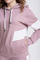 Женский спортивный костюм (Темно/розовый)