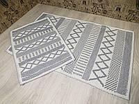 Набір килимків для ванної та туалету. 60Х90. Бавовна. (Туреччина) 6090-3