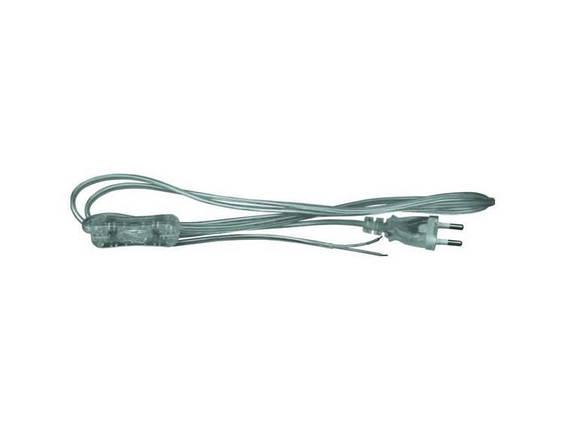 Провод с переключателем длиной 1,8м ШВВП 2х0,5 Skarlat PRH-001-0 2*0,5, фото 2