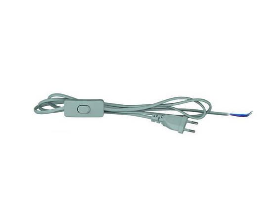 Провод с переключателем длиной 1,8м ШВВП 2х0,5 Skarlat PRH-001-1 2*0,5, фото 2