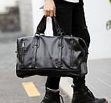 Стильная мужская городская сумка экокожа, фото 2