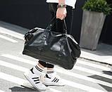 Стильная мужская городская сумка экокожа, фото 3