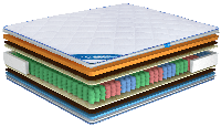 Ортопедический матрас Ultima Sleep Impress Superior 9 Zone 140x190 см (100164)