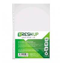 Файл А5 Fresh Up FR-2040 глянец 40мкм (100 шт / уп) (1/40/2000)