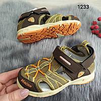 Детские босоножки, сандали для мальчика. Спортивный стиль. р-р 21-26