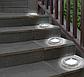 Набор из 4-х солнечных светильников Disk Lights для сада и дома | Уличный светильник на солнечной батарее, фото 2