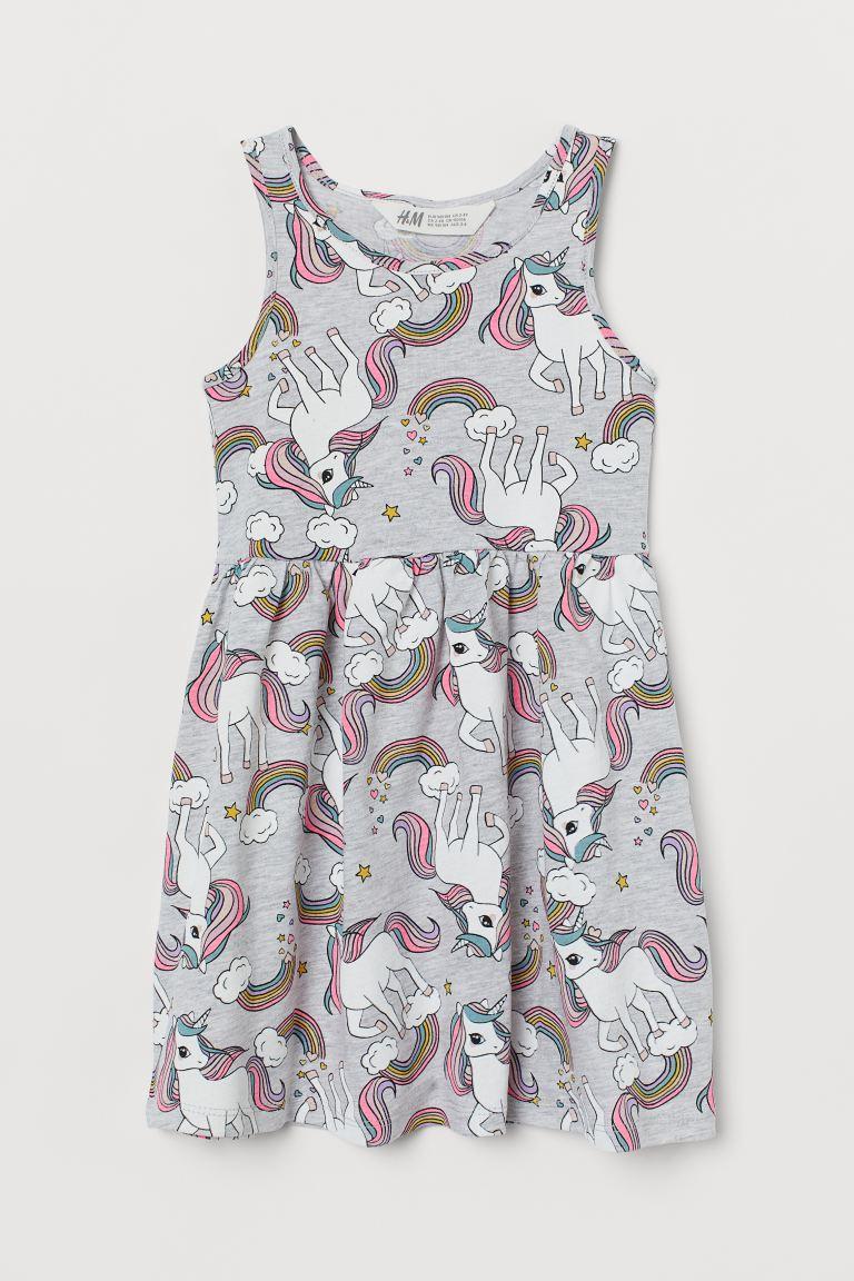"""Платье сарафан H&M """"Милые единорожки""""  для девочек"""