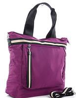 Жіноча тканинна сумка 00112 violet Тканинні сумки недорого, текстильні сумки