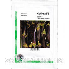 """Семена баклажана ультрараннего """"Фабина"""" F1 (100 семян) от Clause, Франция"""